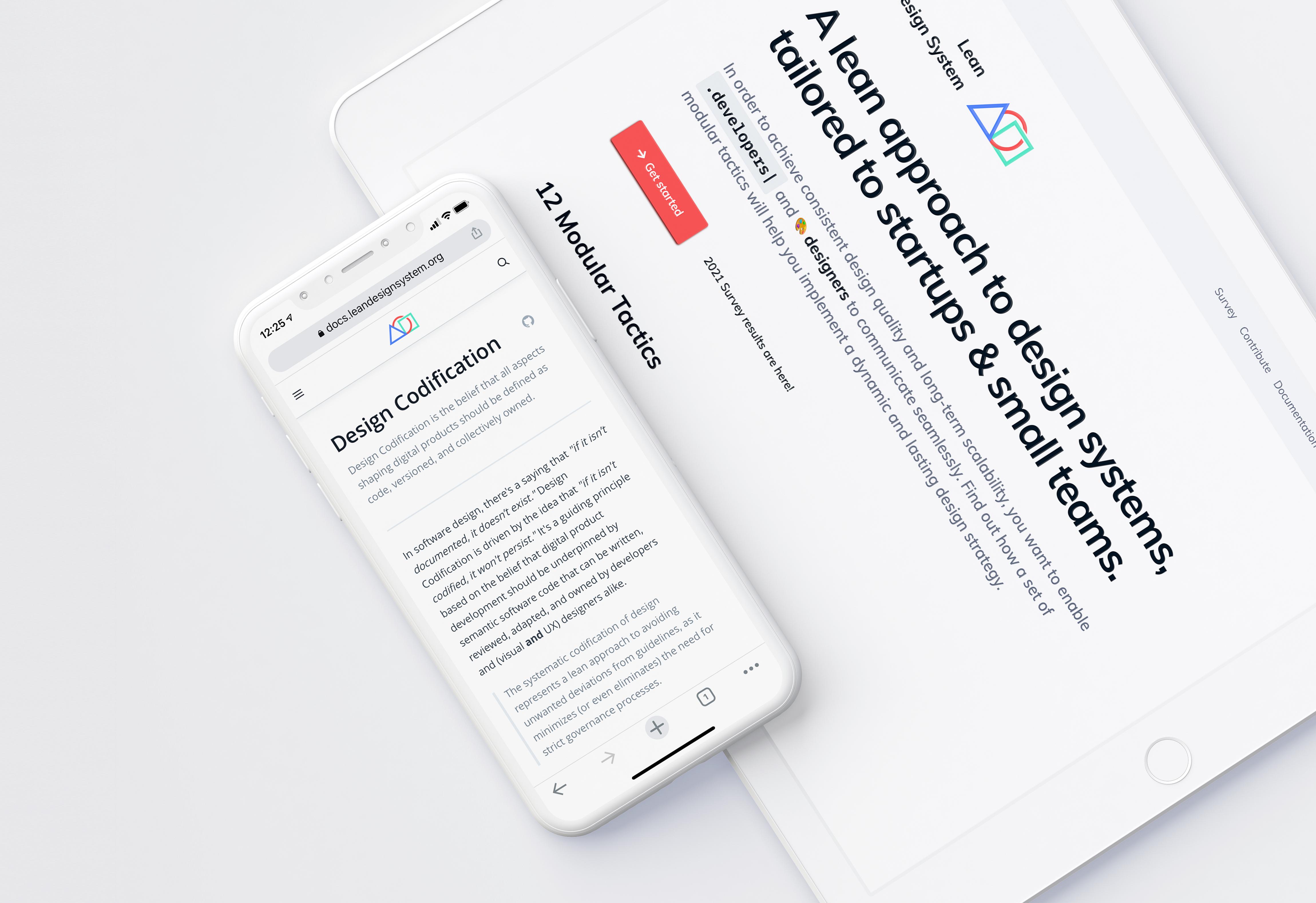 Lean Design System: Web UI