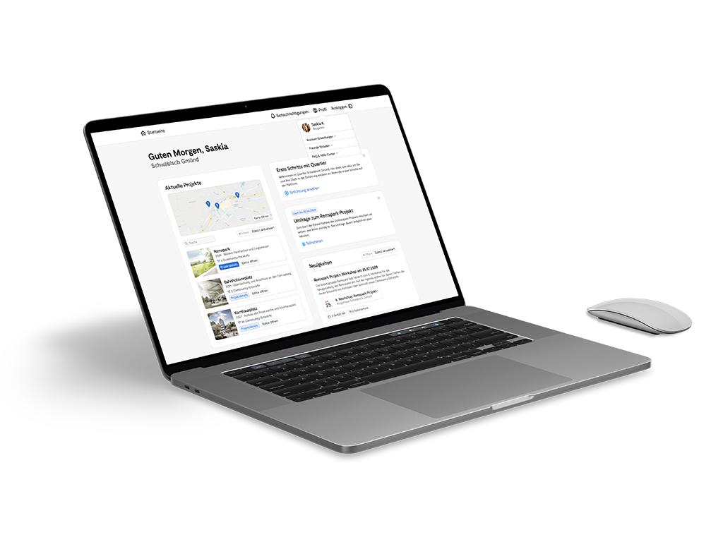 Mockup image showing the web-editor dashboard